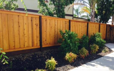 Fence Staining Project in Vacaville CA