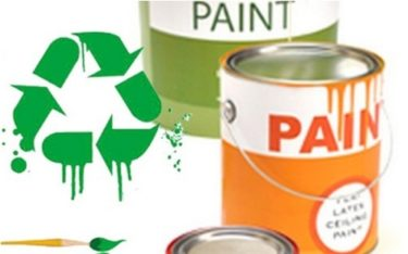 Paint Recycling in October