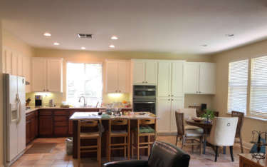 Kitchen Cabinet Painting Transformation in Davis CA