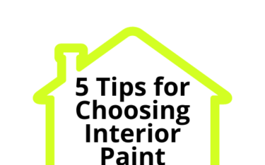 5 Tips For Choosing Interior Paint Colors