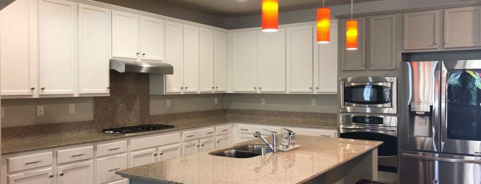 Adding color to your kitchen cabinets in Sacramento?