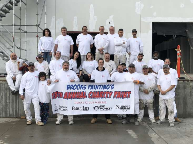 Commercial Painting For Charity
